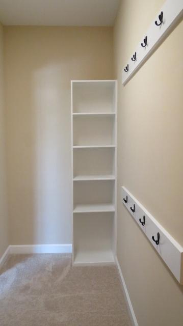 master closet shelves